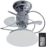 Ventilador de Teto Treviso Atenas Cromado C/Controle Remoto