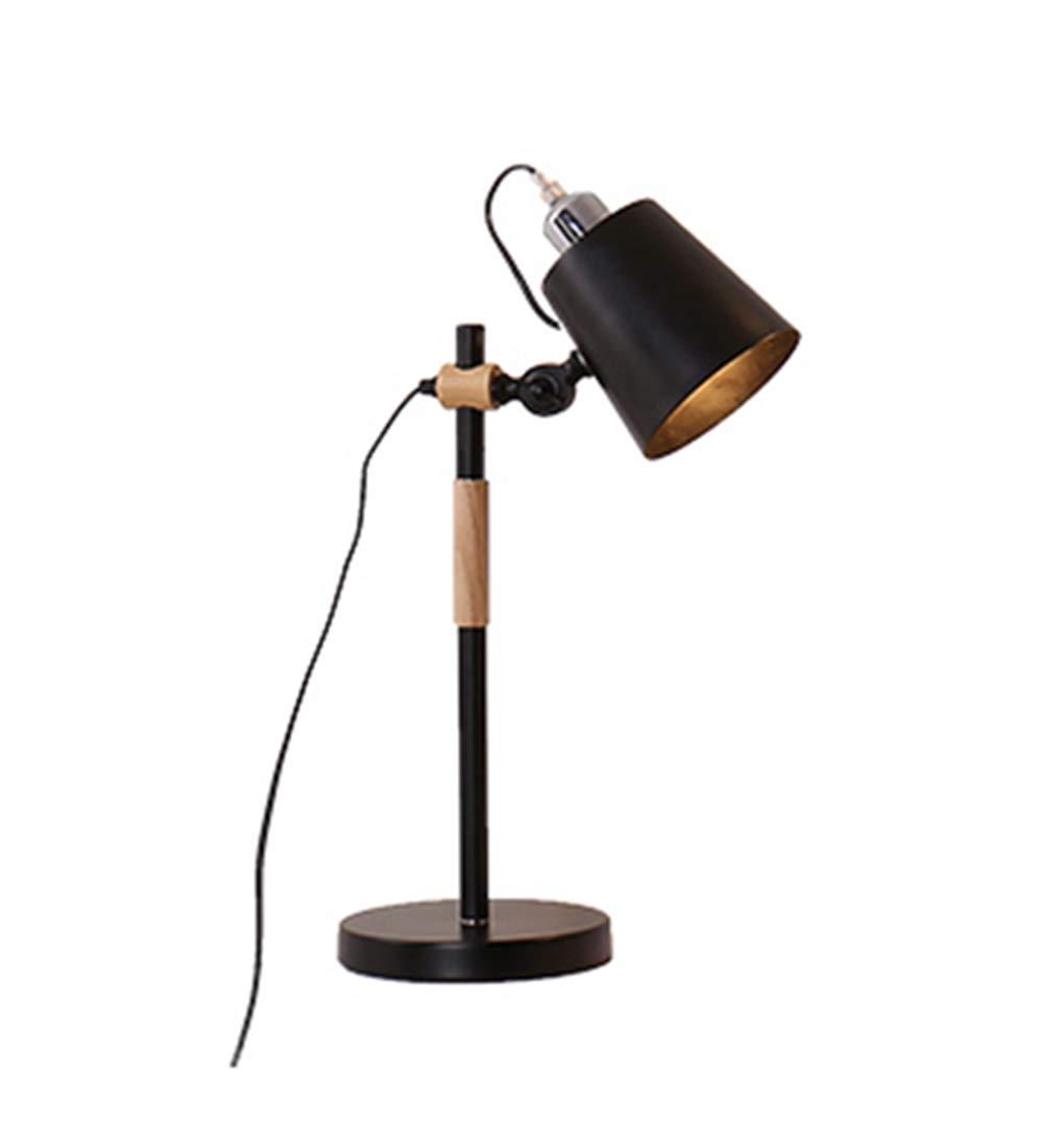 ZENGAI フロアランプ 鉄の芸術 人 シンプルベッドヘッド 調査 ロングテーブルランプ 電源スイッチボタン フロアライト (色 : 黒, サイズ さいず : 52cm) 52cm 黒 B07J9ZS1LH