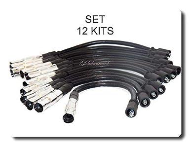 Spark Plug Wire Set 12 Kits Fits Chrysler Crossfire /& Mercedes Benz