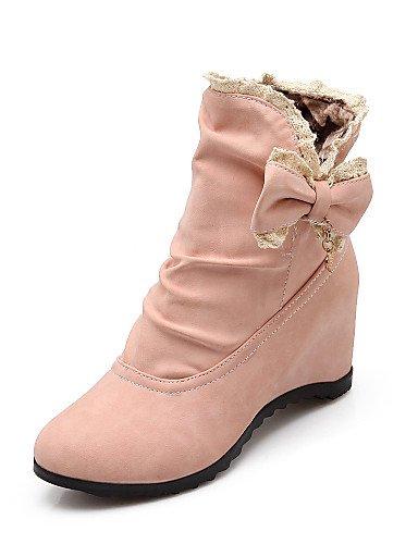 5 Casual us10 Oficina Black us6 Tacón Cerrada Uk4 7 Mujer Pink Trabajo 5 Zapatos 5 Redonda De Vestido Eu42 Y Xzz Punta Cn37 Semicuero negro Bajo Botas Rosa Cn43 5 Eu37 5 Uk8 zqnOSwWp