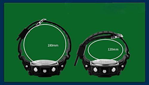Kid Watchマルチ機能デジタルLEDスポーツ50M防水電子アナログクォーツ少年少女子供用時計ギフト グリーン