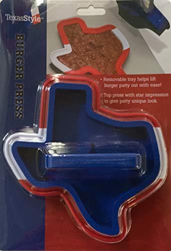 (Texasstyle Texas Shaped Hamburger Press with