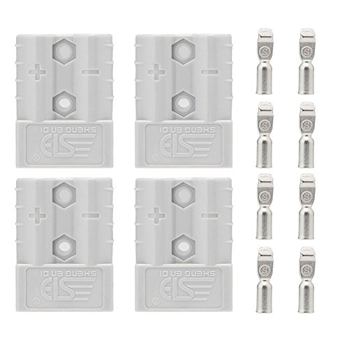 sun-yoba-50a-600v-power-connectors-powerpole-connectors-apply-to-6-awg-wire-133-mm-2-pairs