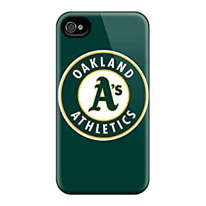 Protector Hard Phone Covers For Iphone 6plus (BqE7047nFFI) Allow Personal Design Beautiful Oakland Athletics Pattern
