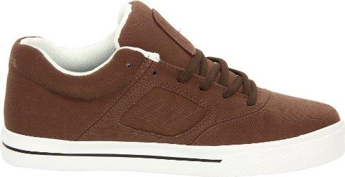 Emerica REYNOLDS 3 6102000011 - Zapatillas de skate de ante unisex Brown - Brown/White/Gum