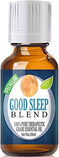 Good Sleep Essential Oil Blend 100% Pure, Best Therapeutic Grade - 30ml - Chamomile, Clary Sage, Copaiba, French Lavender, Peru Balsam, Sandalwood, Sweet Marjoram, Ylang Ylang - 30ml / 1 (Oz) Ounce