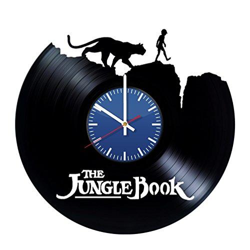 The Jungle Book Handmade Vinyl Record Wall Clock Fun gift Vi