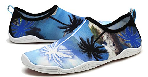Barefoot Quick Socks Fitness Yoga Ladies Shoes Blue Comfort Diving Kids Boating SHUT Athletic UP Slip Dry Aqua On Water Sports Men Snorkeling zqZ6Wvfwg