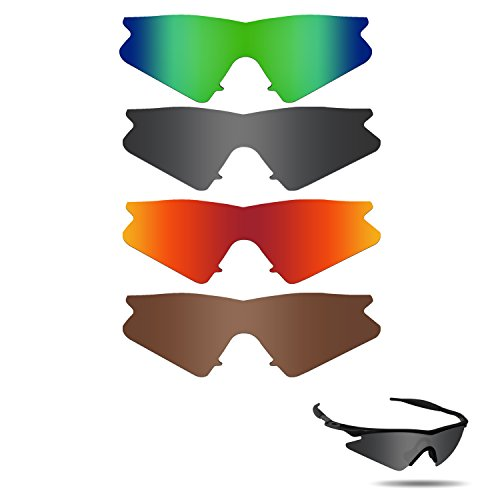 Fiskr Polarized Replacement Lenses for Oakley M Frame Sweep Sunglasses Polarized 4 - Without Lenses Oakley Frames