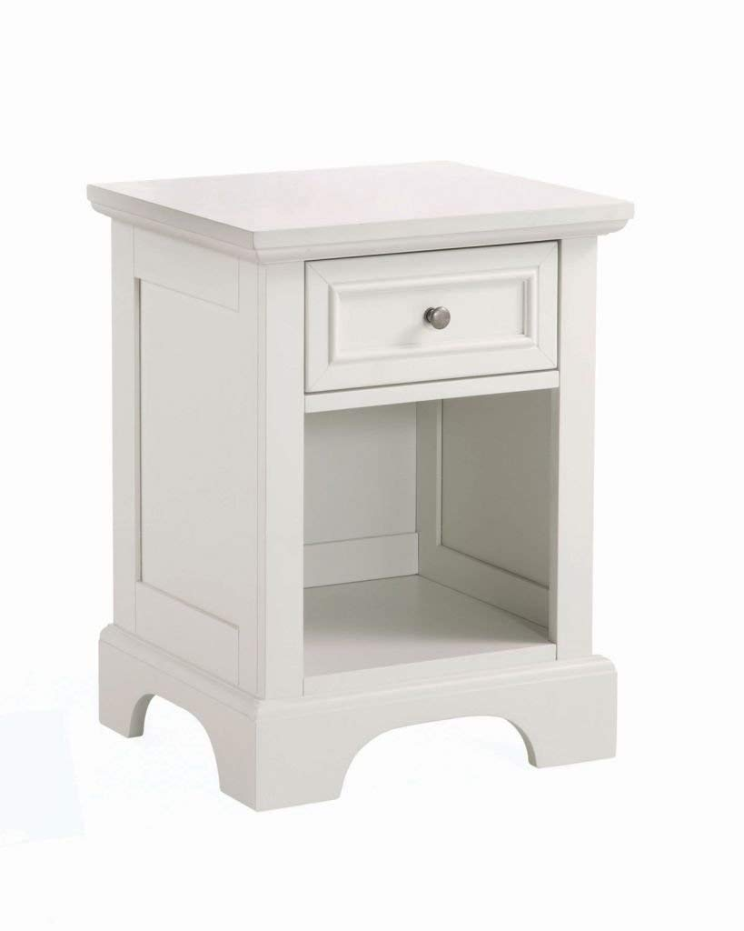 Naples White Night Stand by Home Styles