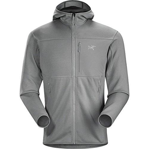 Arc'teryx Fortrez Hooded Fleece Jacket - Men's Smoke II, M by Arc'Teryx