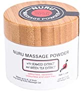 Eroticgel Massage Gel Powder 40g - Makes 4L/ 1.05 gal with Seaweed and Green Tea. Made in Japan P...