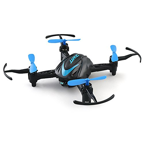 BTG JJRC H48 Mini Pocket Drone 3D Flips and Rolls 2.4Ghz 4CH 6-Axis Gyro RC Nano Quadcopter Palm Size Ideal for Beginners (Blue)