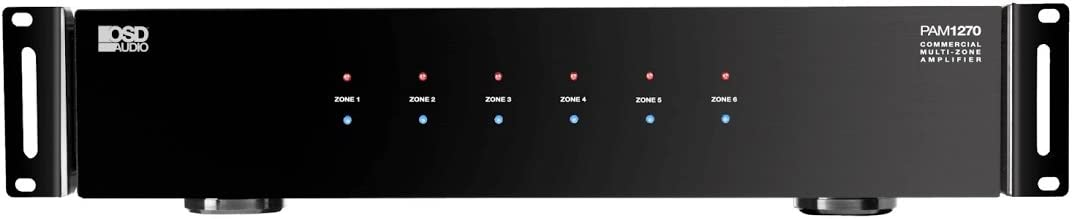 OSD Audio 12 Channel Amplifier - Multi Combination Amp - KIT-PAM1270MULTIIR