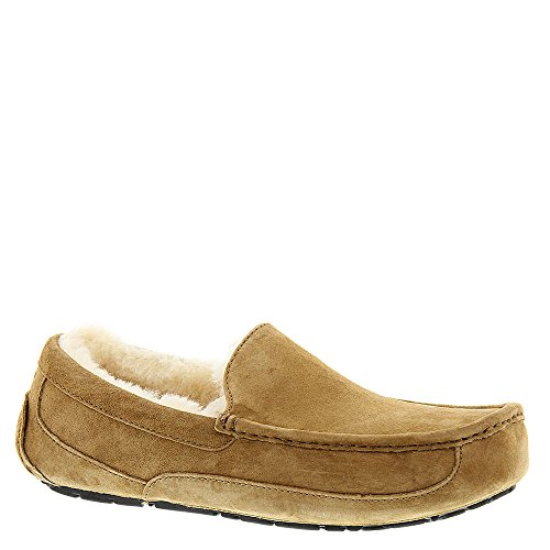 UGG Men's Ascot Slipper, Chestnut, 11 M US
