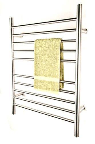 Radiant Plug-In Straight Towel Warmer Polished By Amba Amba Towel Warmers