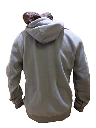 CAMP DAVID SWEATSHIRT WITH HOOD SMOKEY SKY DEEP SEA II CCB-1710-3760 XL
