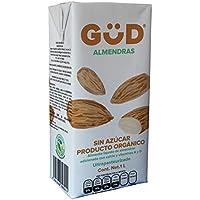 GÜD Alimento Líquido de Almendra sin Azúcar Ultrapasteurizado, 1 L