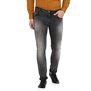Mufti Men's Relaxed Fit Stretchable Jeans