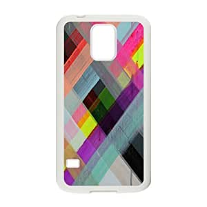 Colorful Stripes Design DIY Cover Case for SamSung Galaxy S5 I9600,personalized phone case ygtg601624