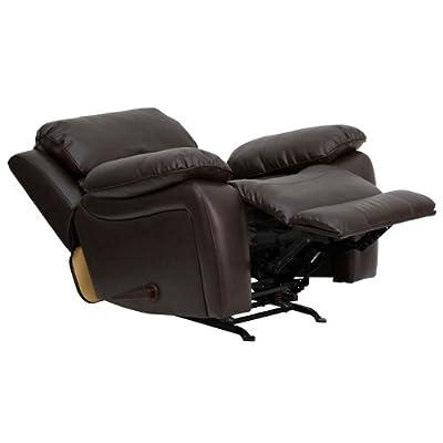Flash Furniture Rocker Recliner U2013 Best Choice For Stability While Reclining.  Flash Furniture Rocker Recliner Review