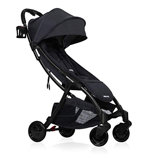 Lightweight Baby Stroller, Beberoad 2020 R2 Quick Fold Ultra Compact Travel Stroller with Waterproof and UV 50+ Canopy, All Wheels Suspension, Apply to 0-36months(45LBS), Versioin 3.0