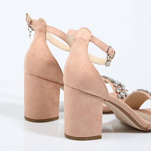 XTI Damen Pumps Pink Rosa