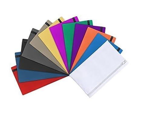 a82ac58bcc6a Large All Purpose Zipper Bag (12pk - One of Each Color) - - Amazon.com