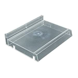Azar 225831 Modular Cosmetic Tray with Adjustable Track Kit