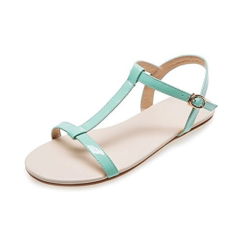 Women's Open-Toe Simple Sandals Big size Sandals Green D8Q5brry