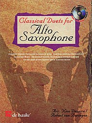 Download Classical Duets for Alto Saxophone: A Journey Through the History of Classical Music (De Haske Play-Along Book) ebook
