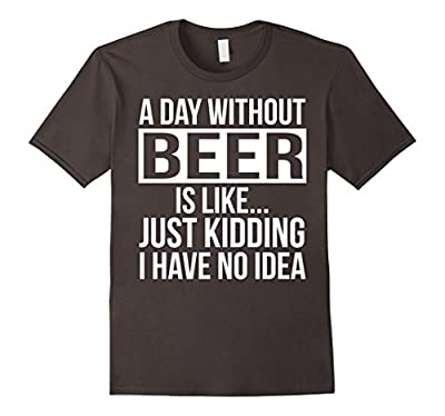 A day without Beer Funny T-shirt