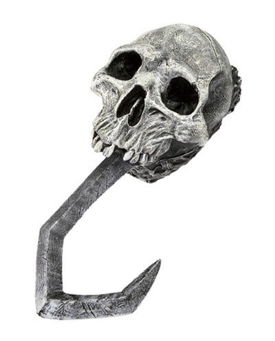 Deluxe Skull Pirate Costume Hook Hand (Skull Pirate Hook Hand)