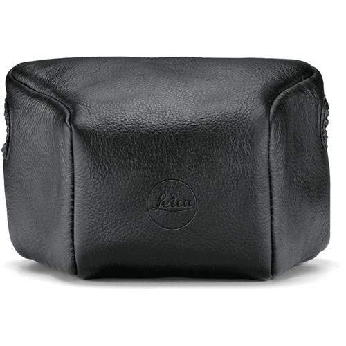 LeicaLeather Pouch, Long, Black