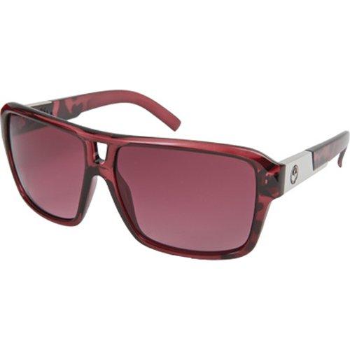 Dragon Alliance The Jam Men's Large Fit Designer Sunglasses - Berry/Rose Gradient / One Size Fits - Jam Sunglasses The Alliance Dragon