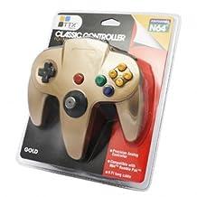 TTX Tech Controller OG-Gold, Nintendo 64