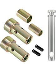 Cat 1 Quick Hitch Adapter Bushing Kit and S07070200 Cat 1 Top Link Pin Fits Category I 3-Point Hitch Tractors
