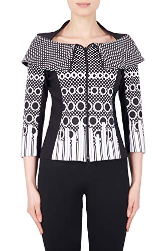 Joseph Ribkoff Stretch Textured Jacket Style 184896 Size 8