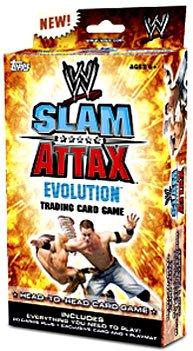 wwe slam attax evolution trading card game - 1