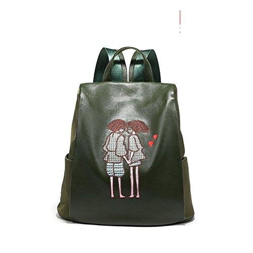 DACHUI Ligero bolso de gran capacidad,moda mochila salvaje-D G