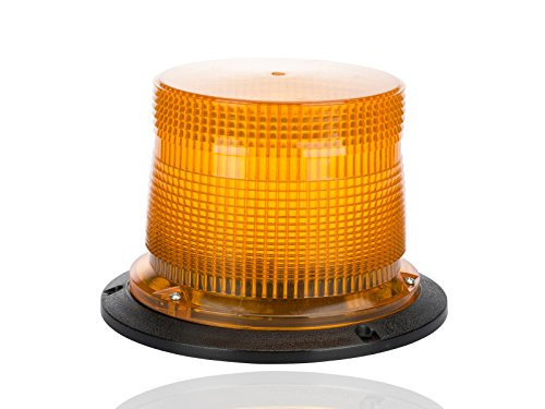 Double Flash Super Industrial Strobe, 120VAC, 0.2 Amps, Amber by NSI
