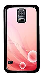 Samsung Galaxy S5 Beautiful Cherry Color Background Image PC Custom Samsung Galaxy S5 Case Cover Black