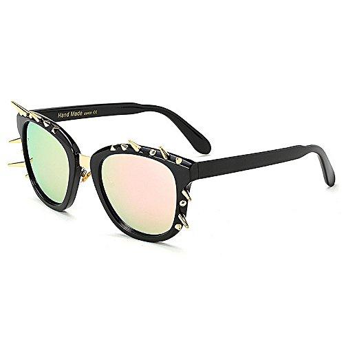 Lady Couleur TP Eye Lunettes Sports 4 de Personnalité 4 UV Rivet Cat Soleil Tourisme Protection Décoration OqO5a