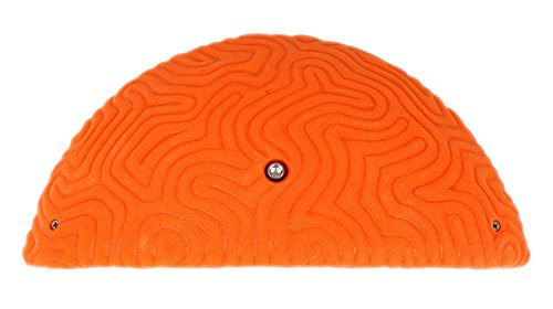 XXXL Brain Coral Ledge #3   Climbing Holds   Orange by Atomik Climbing Holds