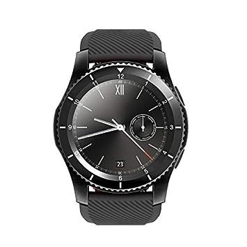 LLLS SmartWatch, Relojes Elegantes para los Hombres para Las Mujeres, SmartWatch Bluetooth 4,0 SIM Mensaje de Llamada recordatorio pulsómetro: Amazon.es: ...