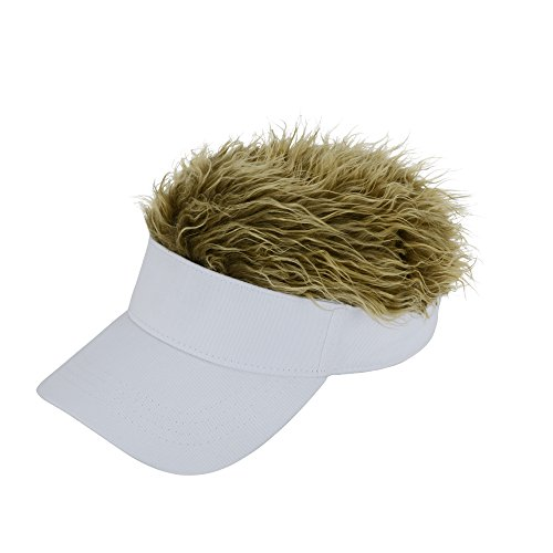 ライト Lite 帽子 フェイクヘアーサンバイザー
