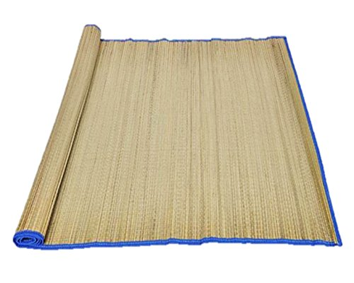 "Price comparison product image Play Kreative Sand Proof Straw Beach Mat 33"" x 60"""