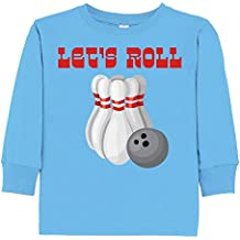 Inktastic - Let's Roll Bowling Toddler Long Sleeve T-Shirt