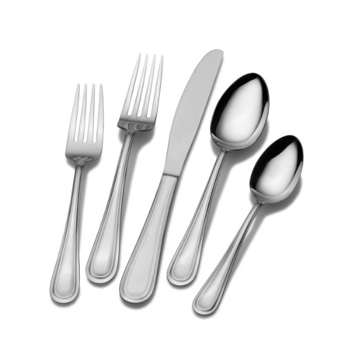 International Silver Forte 20-Piece Stainless Steel Flatware Set, Service for 4
