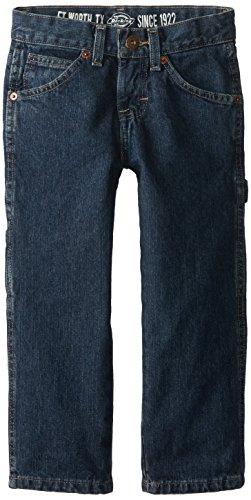 - Dickies Little Boys' Denim Carpenter Jeans, Khaki Tint, 7